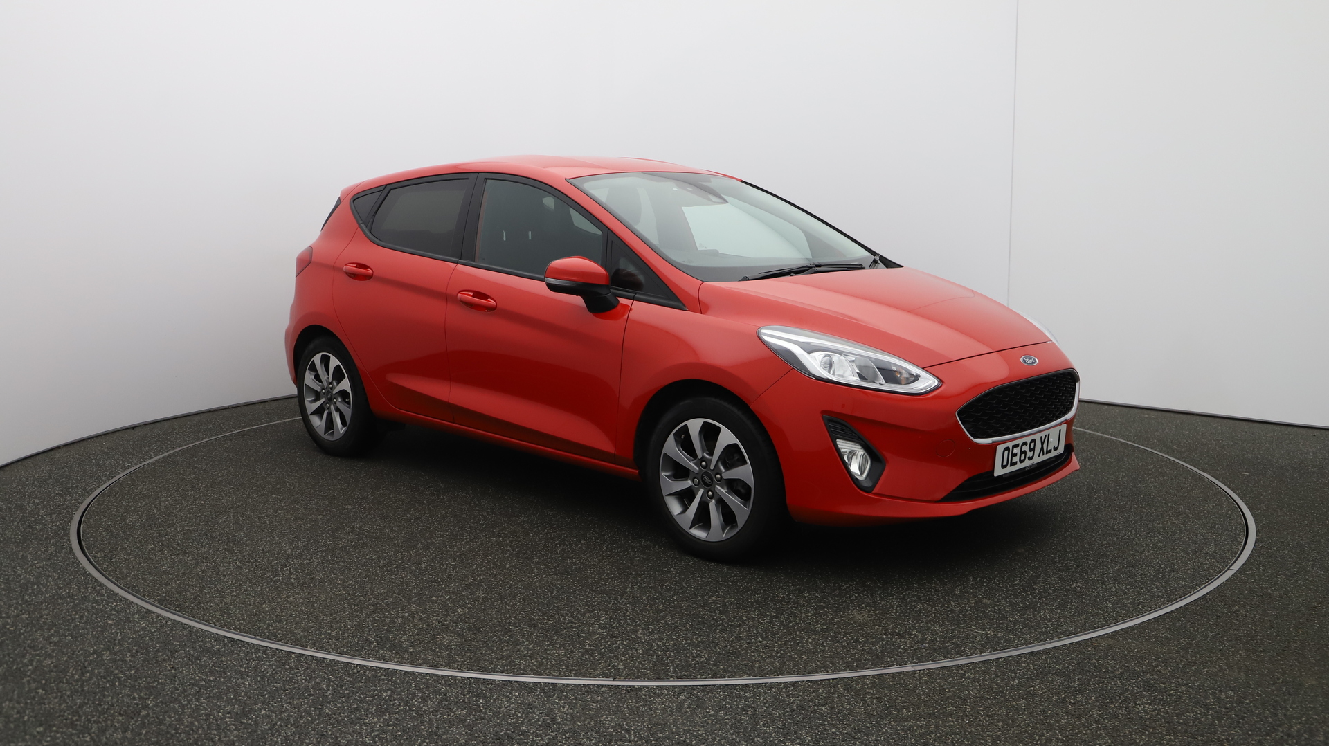 Ford Fiesta TREND Service History