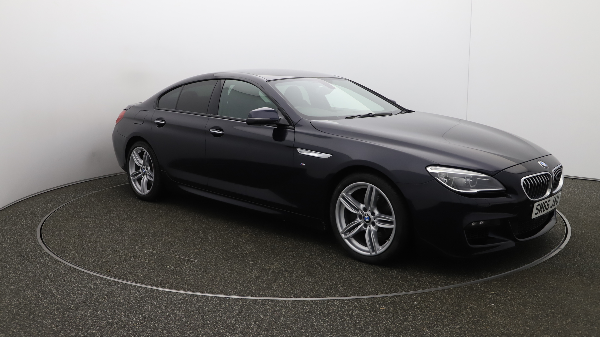 BMW 6 Series 640I M SPORT GRAN COUPE Service History