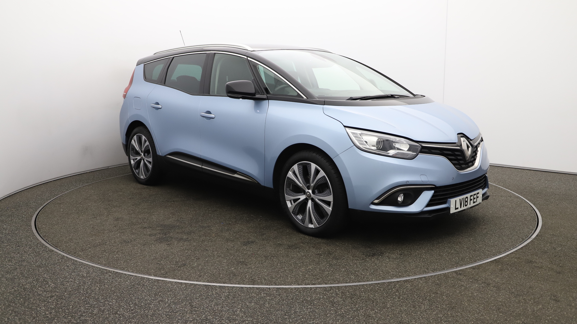 Renault Grand Scenic GRAND DYNAMIQUE S NAV DCI Service History