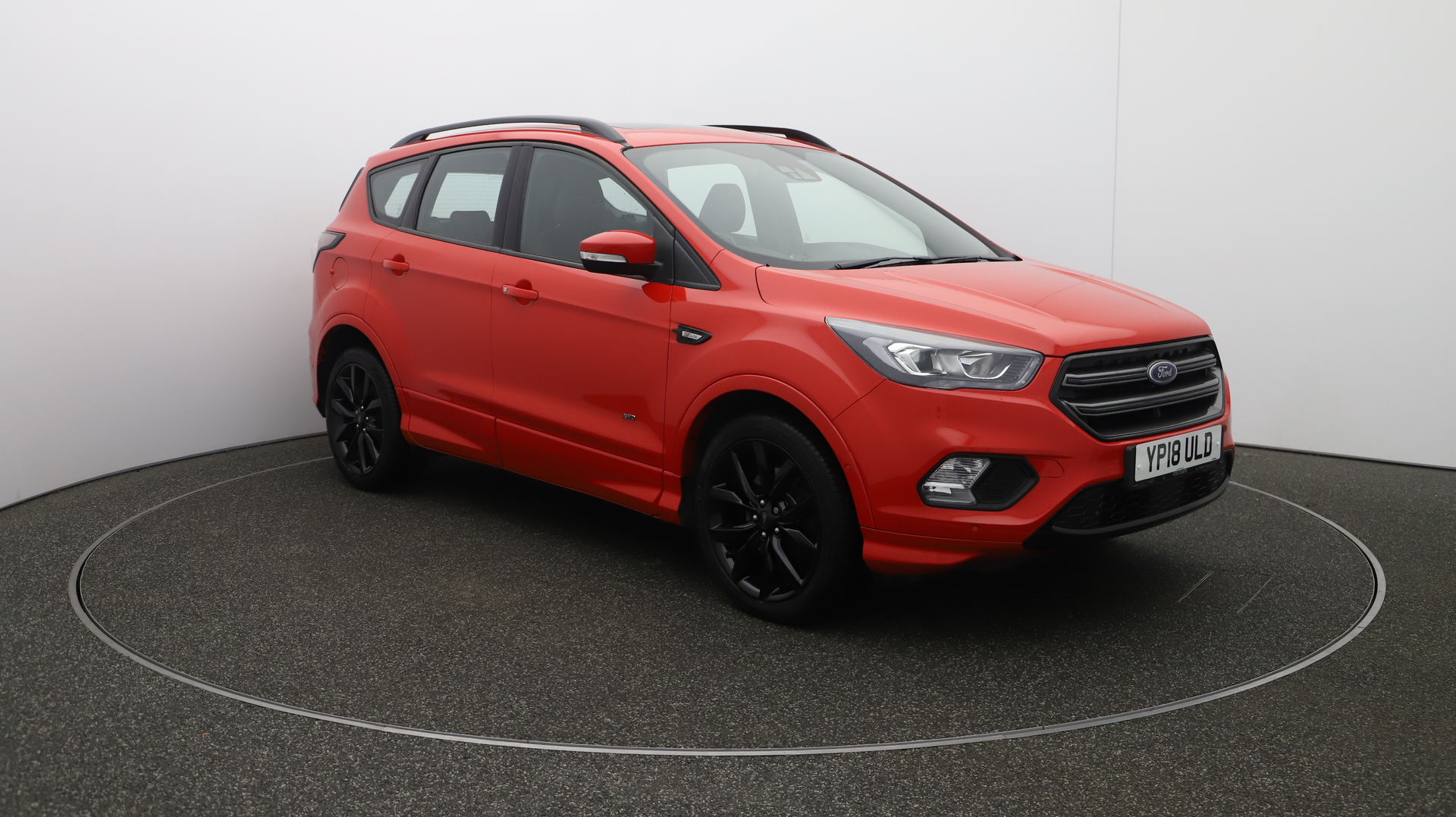 Ford Kuga ST-LINE X Service History