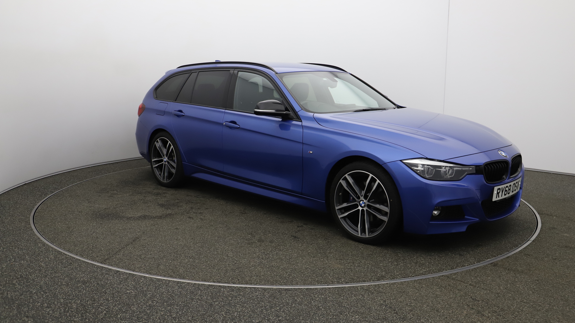 BMW 3 Series 320D M SPORT SHADOW EDITION TOURING Service History