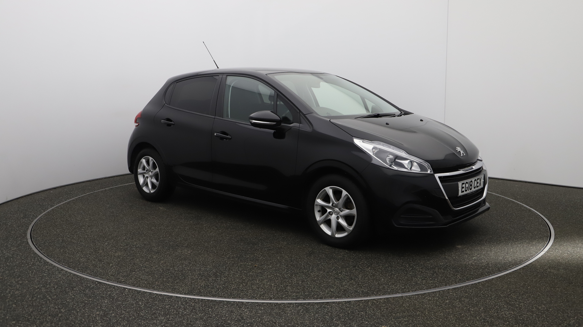 Peugeot 208 ACTIVE Service History