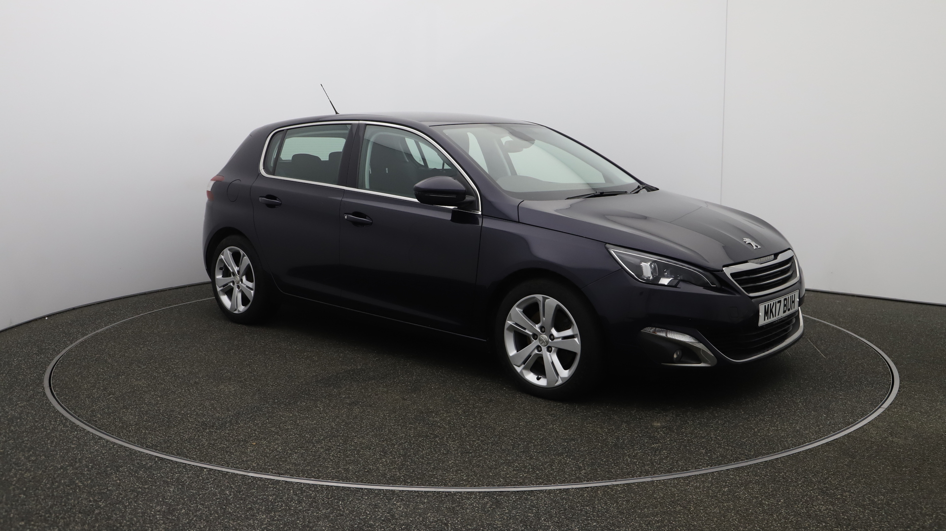 Peugeot 308 BLUE HDI S/S ALLURE Service History