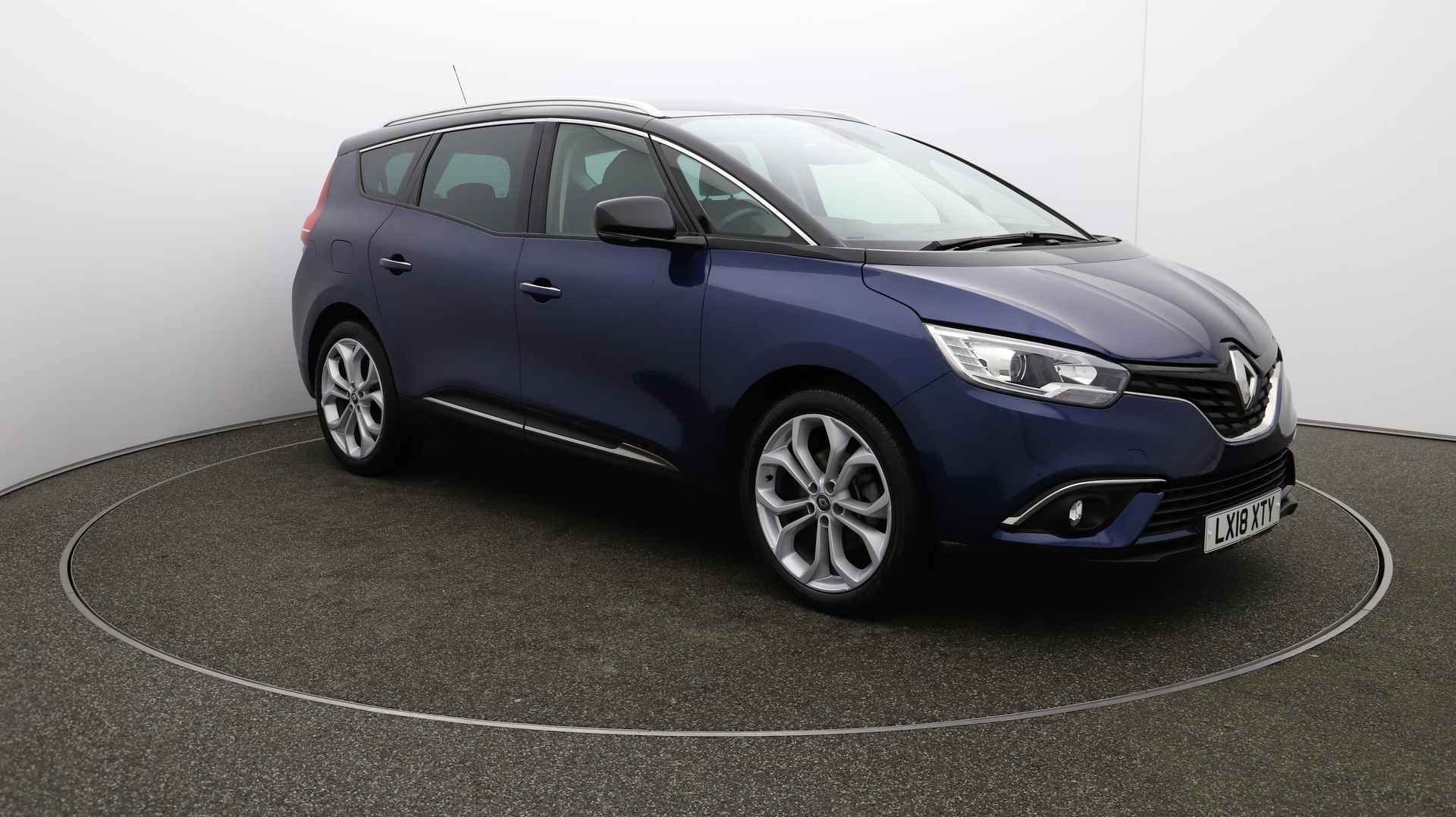 Renault Grand Scenic GRAND DYNAMIQUE NAV DCI Service History